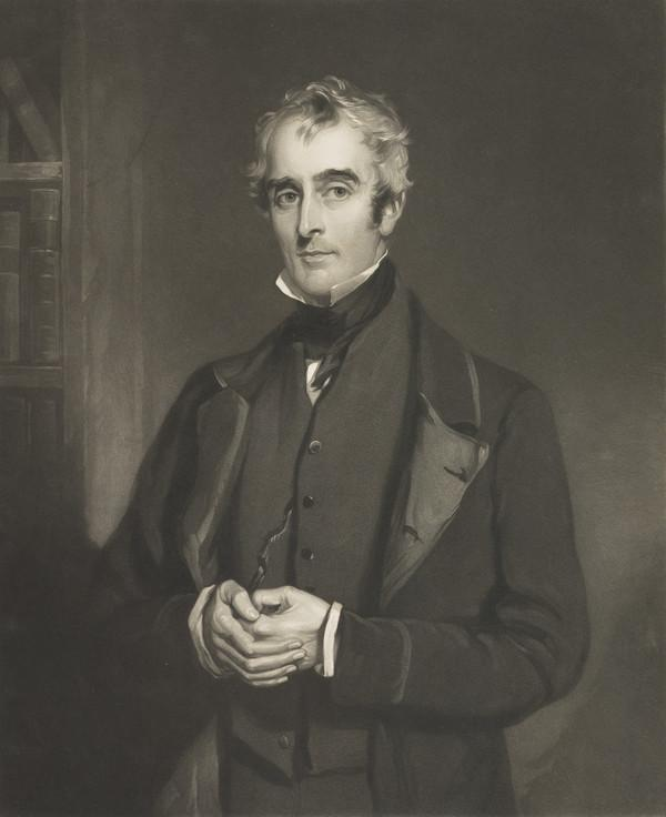 John Gibson Lockhart, 1794 - 1854. Son-in-law and biographer of Scott (Published 1856)