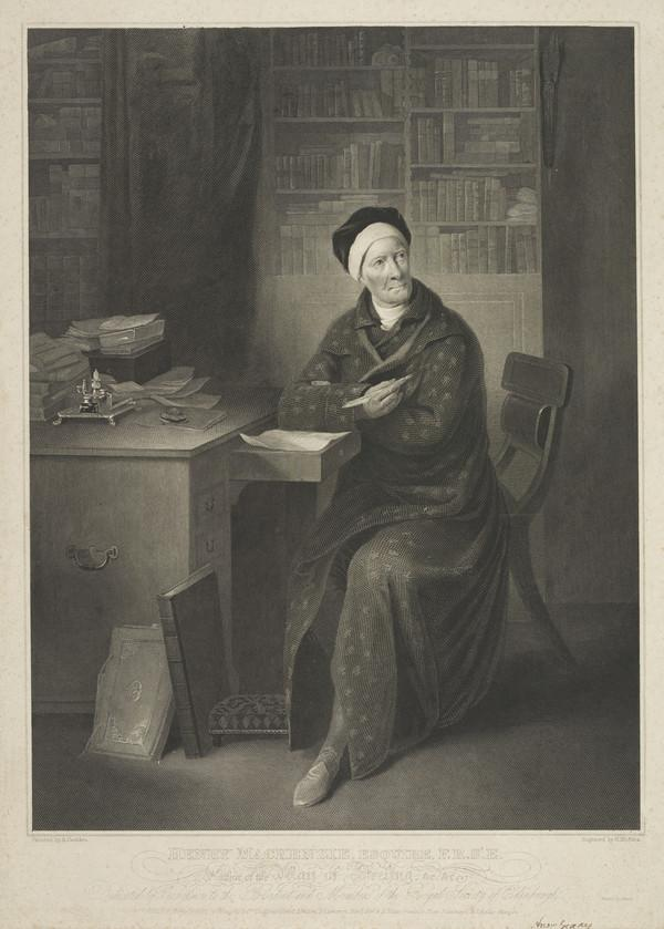 Henry Mackenzie, 1745 - 1831. Novelist and essayist
