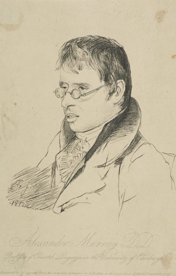 Professor Alexander Murray, 1775 - 1813. Linguist