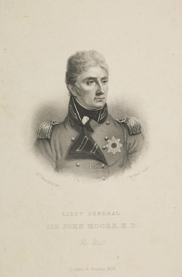 Lieutenant-General Sir John Moore, 1761 - 1809. Soldier (Published 1839)