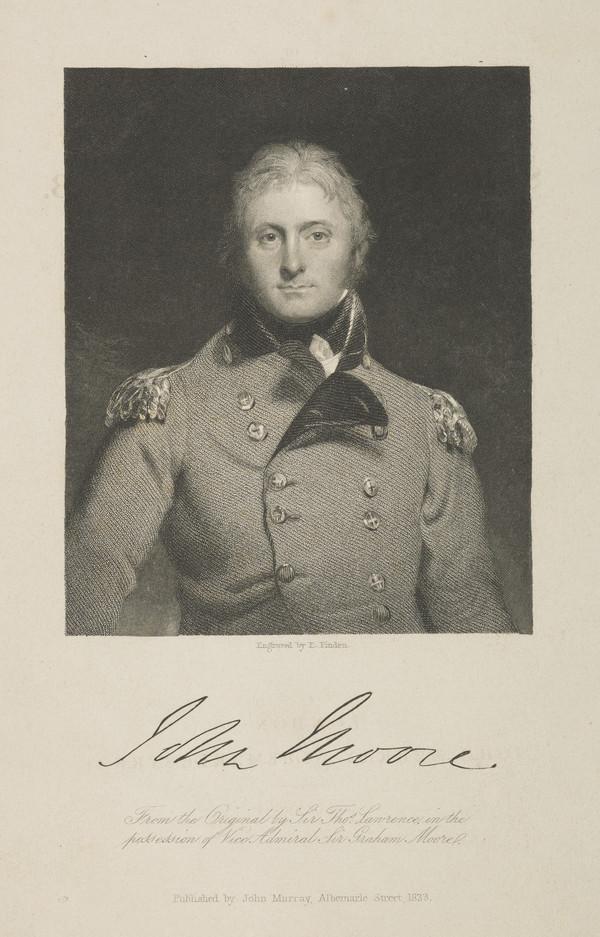 Lieutenant-General Sir John Moore, 1761 - 1809. Soldier (Published 1833)