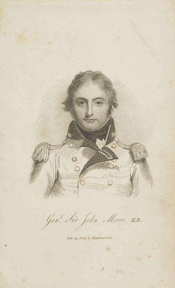 Lieutenant-General Sir John Moore, 1761 - 1809. Soldier (Published 1808)