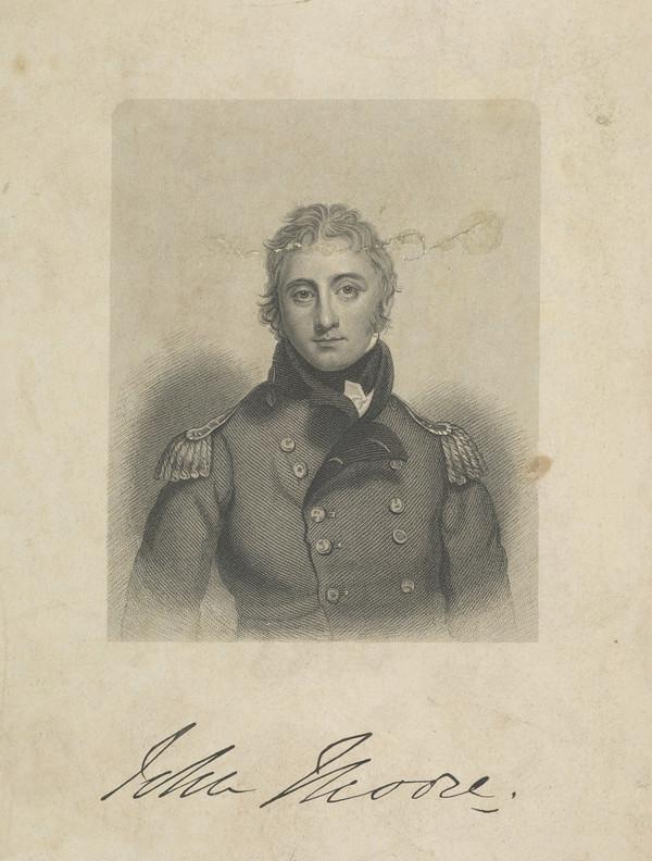 Lieutenant-General Sir John Moore, 1761 - 1809. Soldier