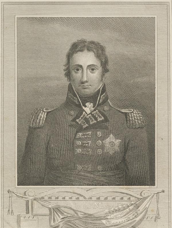 Lieutenant-General Sir John Moore, 1761 - 1809. Soldier (Published 1815)