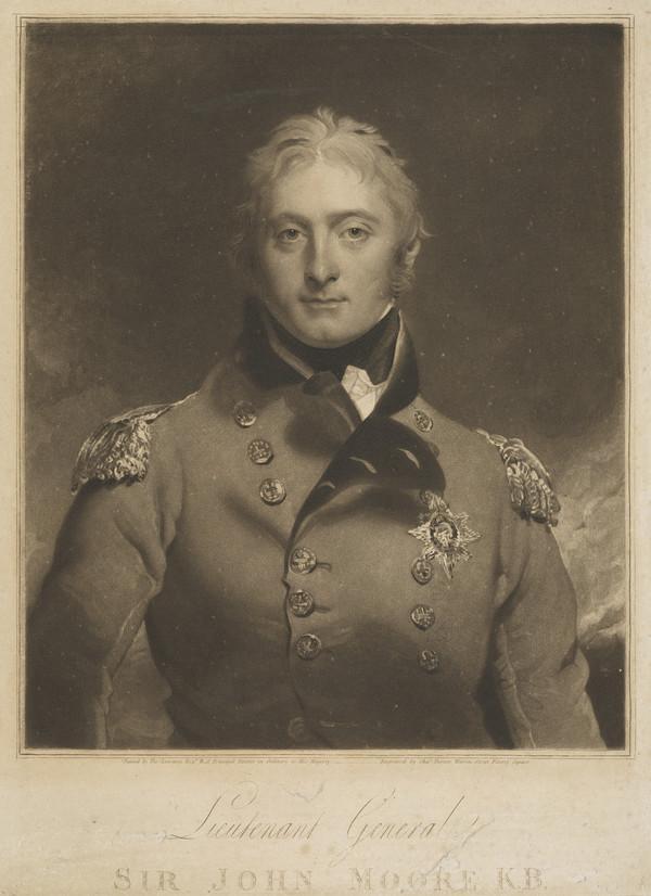 Lieutenant-General Sir John Moore, 1761 - 1809. Soldier (Published 1809)