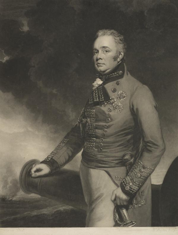 Lieutenant-General Sir Thomas Maitland, c 1759 - 1824. Commander-in Chief in the Mediterranean