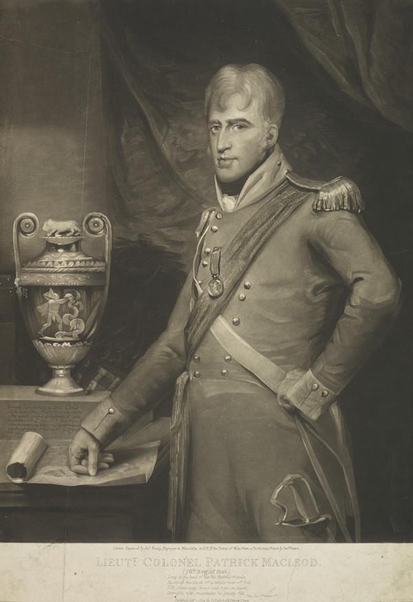 Lieutenant-Colonel Patrick Macleod, d. 1807 (Published 1809)
