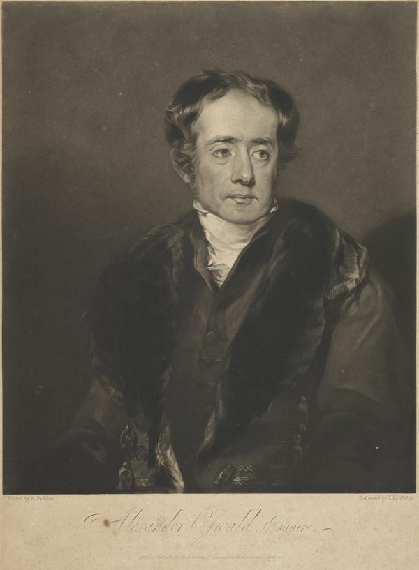 Alexander Oswald, 1777 - 1821. Advocate (Published 1822)