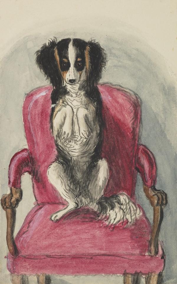 Dog at 31 Heriot Row (Dated 1835)