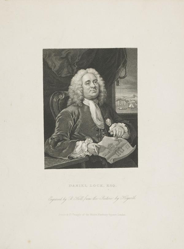 Daniel Lock, 1681-1754. Governor of the Foundling Hospital