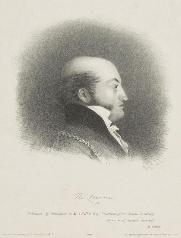 Sir Thomas Lawrence, 1769 - 1830. Artist (1830)