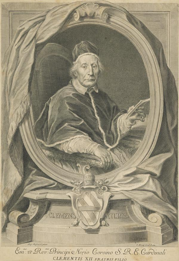 Pope Clement XII (Lorenzo Corsini), 1652 - 1740.
