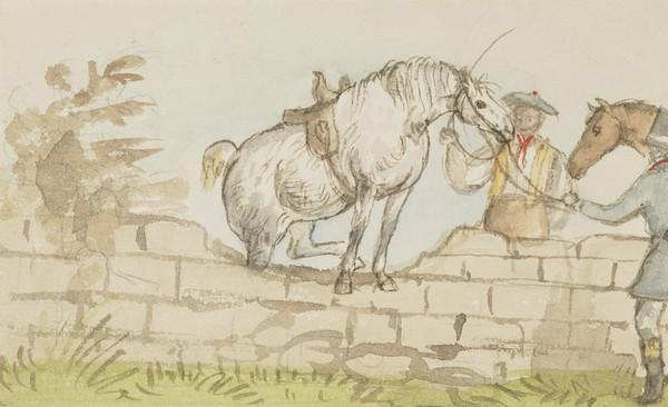 Slap made in dyke, horse refusing to go over. Groom, Samuel Grierson, farm servants (Dated 19th Oct. 1837)