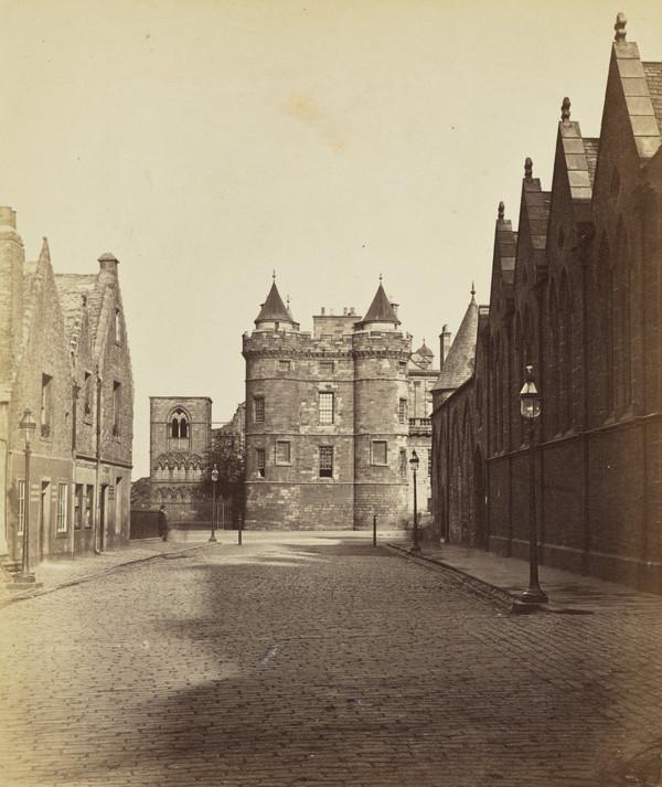 King James V. Towers, Holyrood, Edinburgh