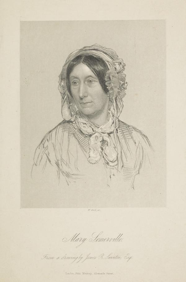Mary Fairfax, Mrs William Somerville, 1780 - 1872. Writer on science