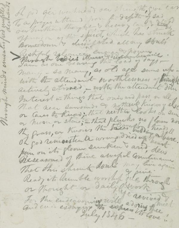 Manuscript Prose