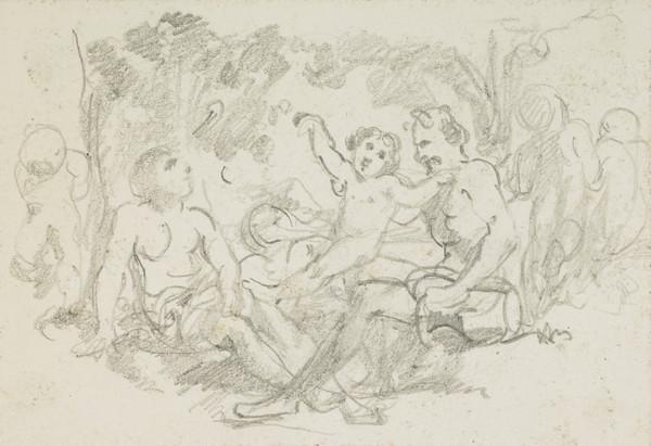 Study for 'Domestic Arcadia' (1848)