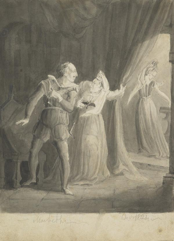Illustration to Macbeth (Dated Decr. 1824)