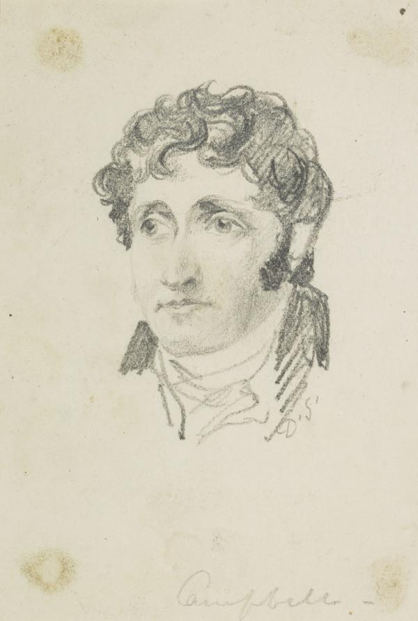 Thomas Campbell, 1777 - 1844. Poet and critic (Dated 1830)