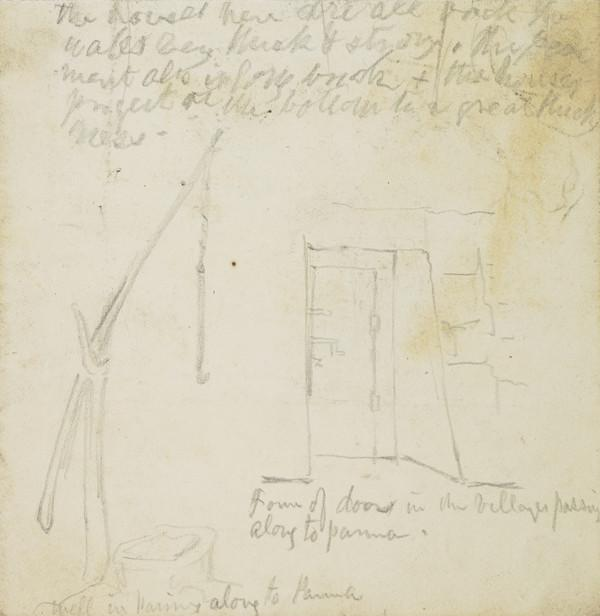 Study of a Well and Doorway near Parma