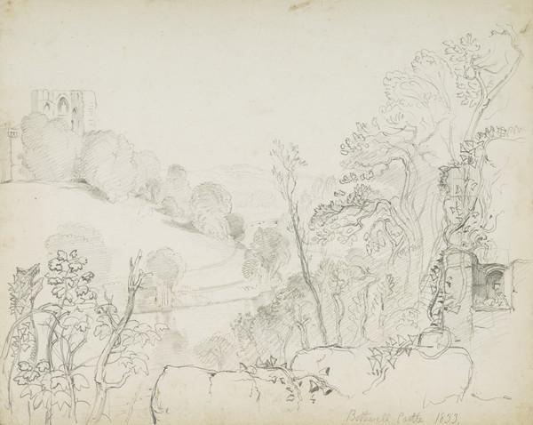 Bothwell Castle (Dated 1833)