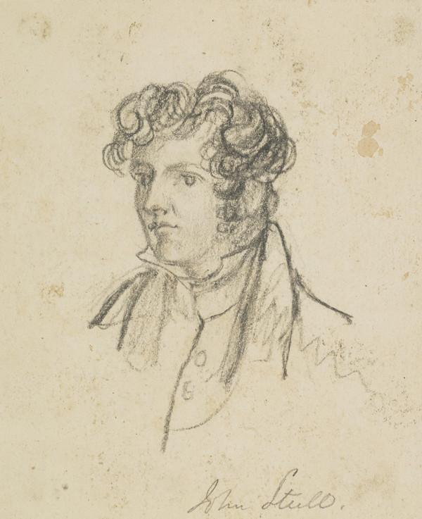 Sir John Steell, 1804 - 1891. Sculptor (Dated 1830)