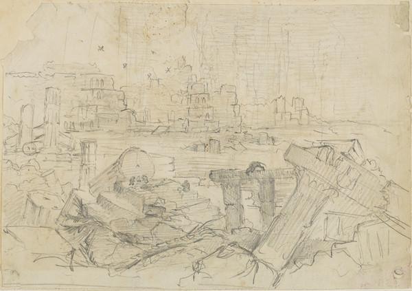 Destruction of Nineveh (Dated 1829)