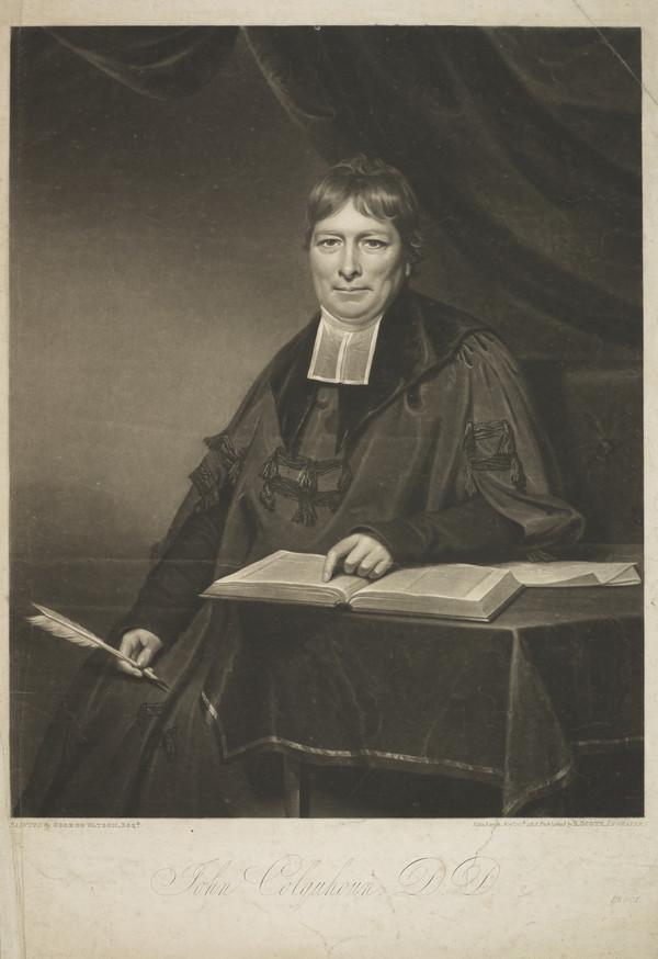 Rev. Dr John Colquhoun, 1748 - 1827. Minister of the Chapel of Ease (St John's Church), Leith (1818)