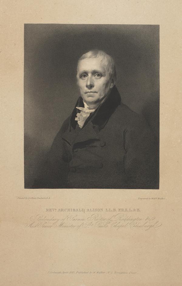 Rev. Archibald Alison, 1757 - 1839. Essayist