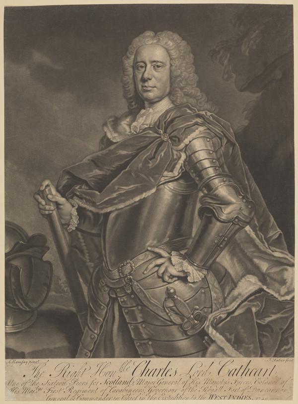 Charles Cathcart, 8th Baron Cathcart, 1686 - 1740