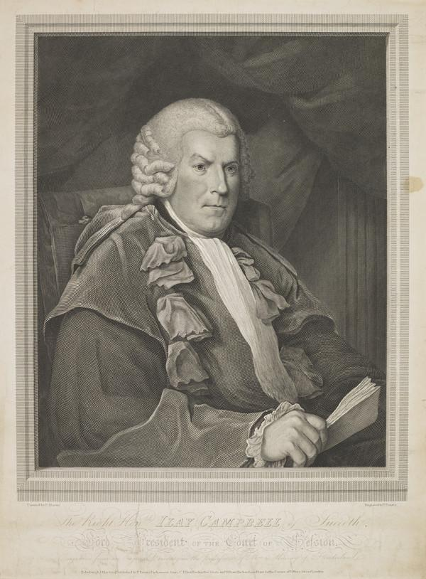 Sir Ilay Campbell of Succoth, 1734 - 1823. Lord President (1804)