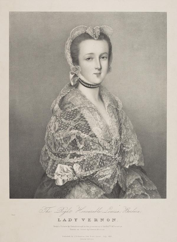 Right Honourable Louise Barbara, Lady Vernon (1835)