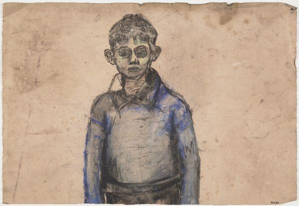 Half-length Study of a Boy