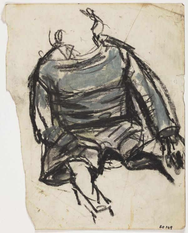 Study of a Boy in Jumper and Shorts