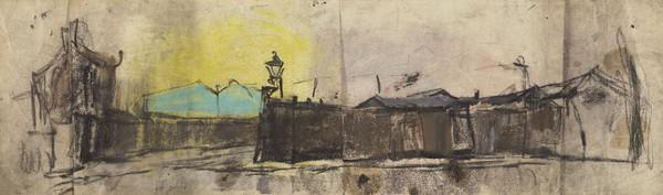 Yellow Sky and Gas Lamps