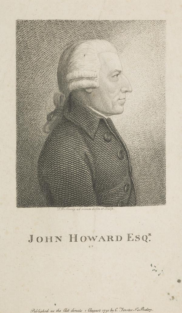 John Howard, c 1726 - 1790. Philanthropist (Published 1791)