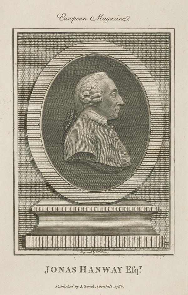 Jonas Hanway, 1712 - 1786. Traveller and philanthropist (Published 1786)
