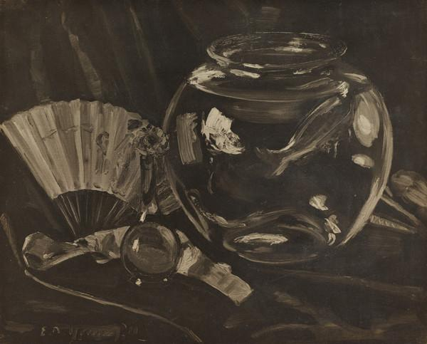 Still Life with Bowl and Fruit
