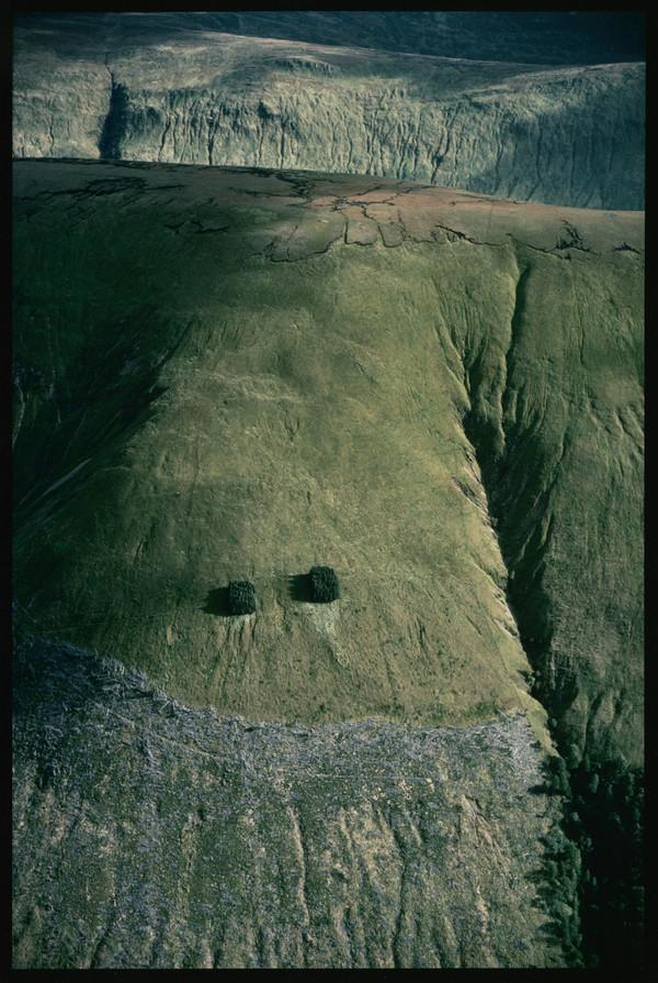 Blanket bog and felled forest, Great Glen (September 1987)