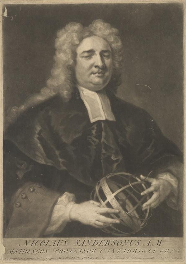 Nicolas Sanderson. Professor at Cambridge