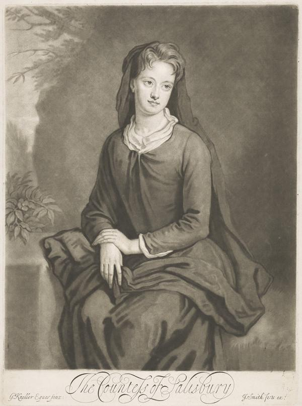 Frances Bennett, Countess of Salisbury, 1670 - 1713