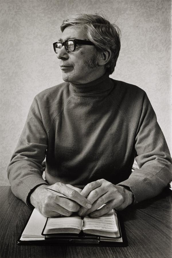 Edwin Morgan, 1920 - 2010. Poet. (From the series 'The Seven Poets') (1980)