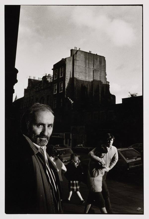 Richard Demarco, b. 1930. Artist and art collector
