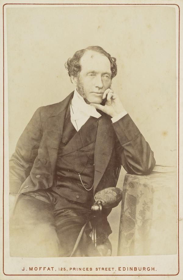 Rev. Dr David Thomas Kerr Drummond, 1799 - 1888. Of St Thomas's English Episcopal Chapel, Edinburgh