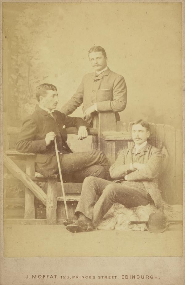 Three Young Men, Alexander or Adamson family ?
