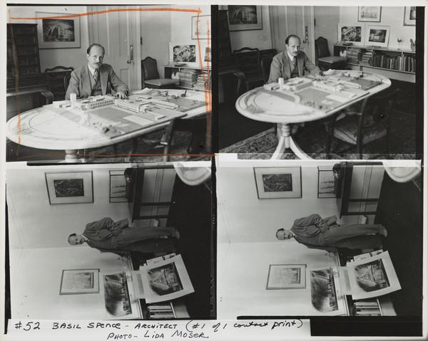 Sir Basil Urwin Spence, 1907 - 1976. Architect.