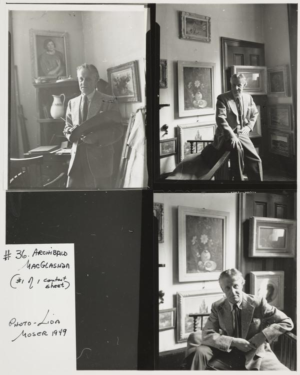 Archibald McGlashan, 1888 - 1980. Artist