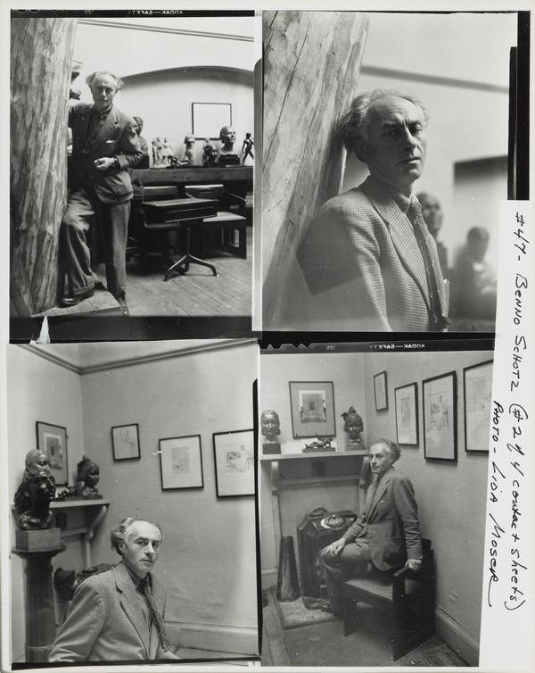 Benno Schotz, 1891 - 1984. Sculptor