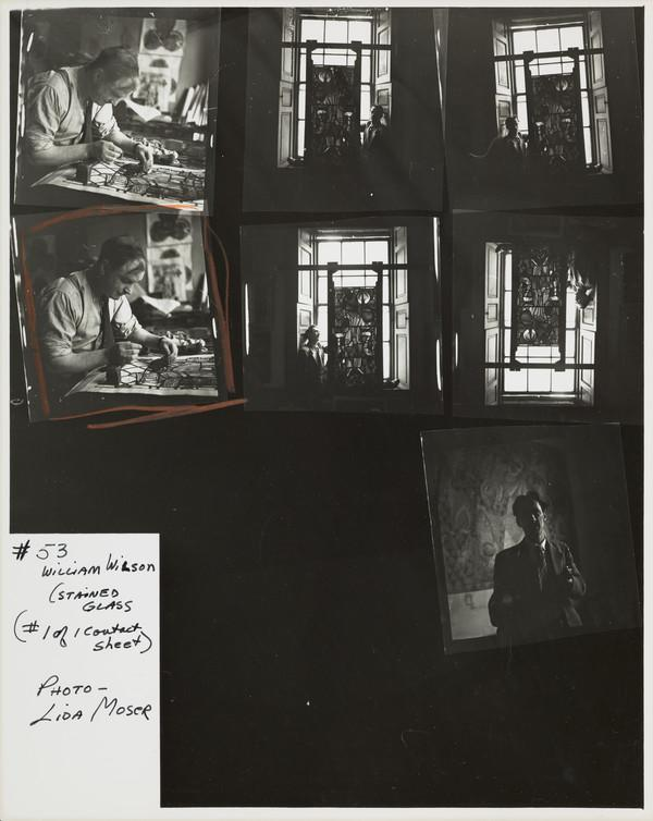 William Wilson, 1905 - 1972. Etcher and stained glass artist
