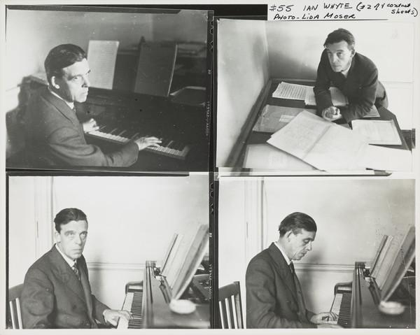 Ian Whyte, 1901 - 1960. Musician